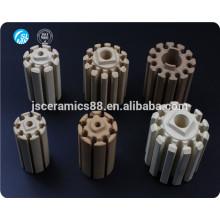 refractory ceramic parts cordierite ceramic bobbin heater ceramic heating element