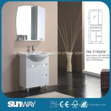 Gabinete de baño de MDF con espejo