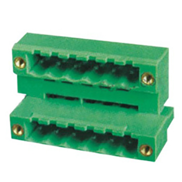 Plug-in Terminal Block Sudut Kanan W / F Pitch: 5.0 / 5.08