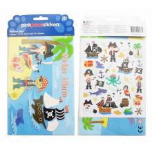 niños piratas pegatinas de dibujos animados lindo corsario