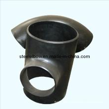Soudure bout à bout ANSI Asme Bw carbone sans soudure raccord de tuyaux en acier