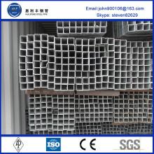 Chine fournisseur 40x40 poids acier ms carré