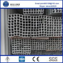 Китай поставщик 40x40 вес сталь мс квадратных труб