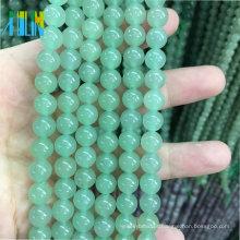 Atacado A Granel 4-12mm Pedras Preciosas Semi Preciosas Pedra Solta Pedras Preciosas Natural Verde Aventurina