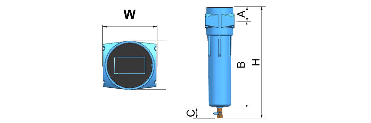 Drawing of YD-B