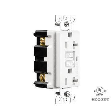ETL Approved 20A GFCI Duplex Receptacle Us Socket