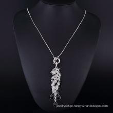 Puma Sharp Big Rhinestone Crystal Clear Pingente De Diamante