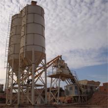 Construcción de maquinaria de procesamiento por lotes por lotes de hormigón portátil