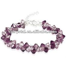 2016 beliebte violette Perlen Armbänder