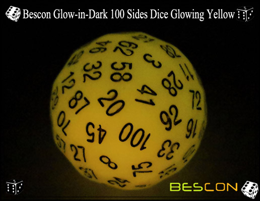 Bescon Glowing Yellow D100-1