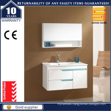 Fashion New Free Standing MDF White Painting Bathroom Cabinet