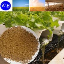 Engrais granulé composé d'acides aminés
