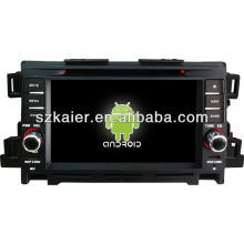 Android System Auto DVD-Player für Mazda CX-5 mit GPS, Bluetooth, 3G, iPod, Spiele, Dual Zone, Lenkradsteuerung
