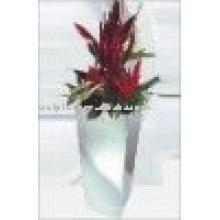stainless steel garden flowerpot for deco