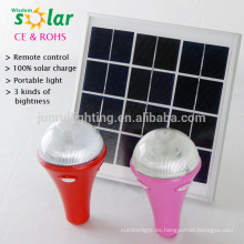 3W Super brillantes luces solares para uso en interiores, lights(jr-SL988A) casa solar led