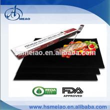 100% PFOA livre PTFE churrasqueira grill mat