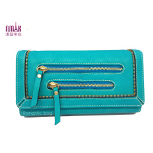 PU Fashion Lady Wallets Purse Clutch with SGS (NMDK-W003)