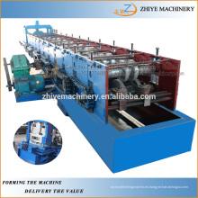 Profesional de zinc de hierro Metal Steel CU Canal Purline máquina de formación de frío