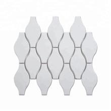 High quality arabesque ceramic backsplash mosaic