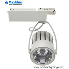 40W COB LED Track iluminación para iluminación LED