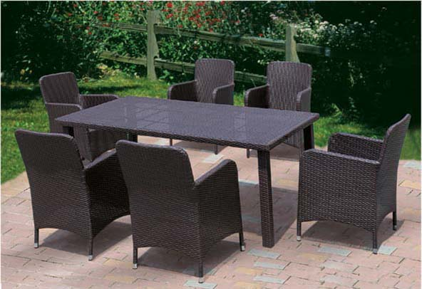 Popular rectangle dining set