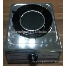stainless steel single burner infra red tabel gas stove, gas cooker