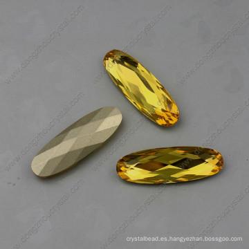 Abalorios de piedras amarillas Strass Stones