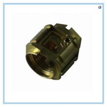 CNC Machining Brass Pipe Fitting for Manufacturer