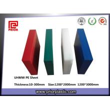 Feuille de plastique UHMWPE la plus vendue pour la vente en gros