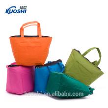 plaid handle rpet shopping bag