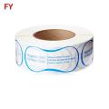 Clear waterproof pvc protective swimwear stickers for hygiene