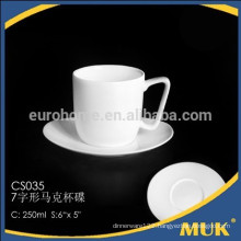 eurohome bone china tea cup size unique design coffee cup and saucer