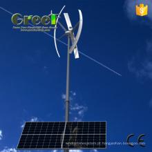 1-200kw sistema híbrido de vento Solar com a na-/ fora-grade de sistema