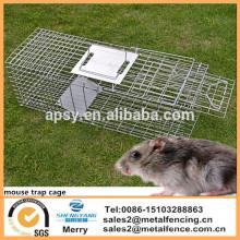 Maus-Käfig-Tier-faltbare Falle für Opossum-Katzen-Kaninchen-Waldmurmeltier-Hasen