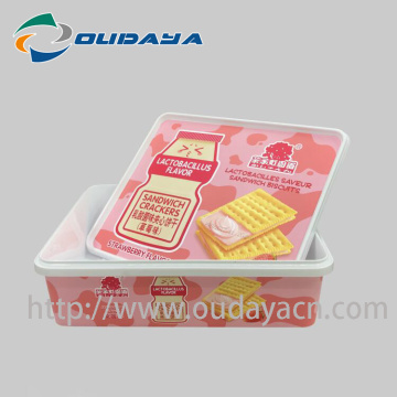 Caja IML Sandwich Biscuit Packaging Box