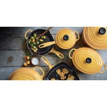2016 Slap-up Colorful cast iron cookware set