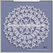 Neue Entwurfshochzeitskleidzusätze Kristallrhinestoneapplique