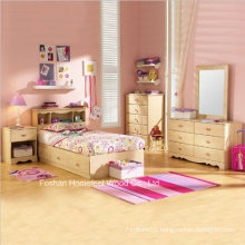 Lily Rose Kids Twin Bed Captain Storage Bedroom Set with 5PCS