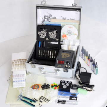 Professional Tattoo Kit with 2 Machines