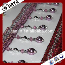2016 Stock Produkt Ausverkauf für Sofa Vorhang Kissen von nachgeahmten Metall Perlen Fransen