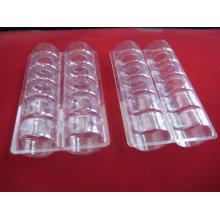 Boîte de conditionnement en plastique Macaron