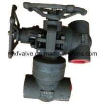 1500lb forjou a válvula de porta da linha do selo da pressão do aço carbono A105
