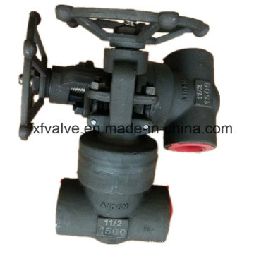 1500lb Forged Carbon Steel A105 Pressure Seal Thread Gate Valve