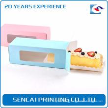 Sencai Cake ablong packing paper box