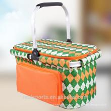 Saco refrigerador comercial do projeto da forma do saco do almoço do refrigerador do homem da mãe com bolso