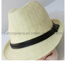 El nuevo sombrero de paja de los hombres del diseño, verano se divierte la gorra de béisbol