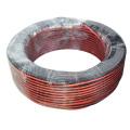 SIPU usine prix RVB câble 2.2mm-3.8mm gros rvb puissance haut-parleur câble meilleur rouge et noir fil d'enceinte