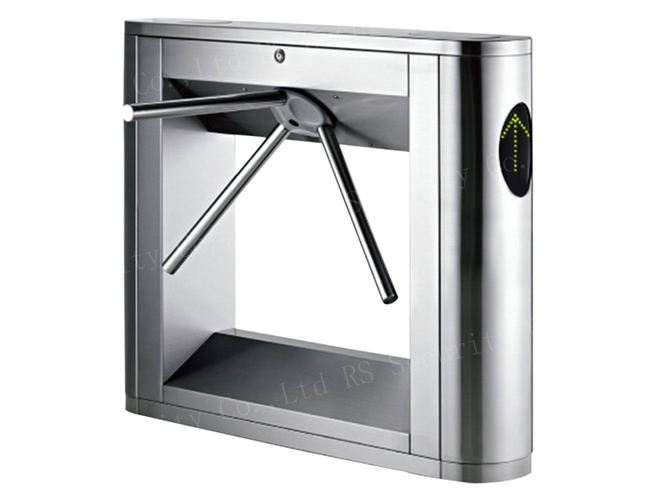 Optical Turnstile Speed Gate Flap Glass Barrier