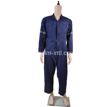 Hi-Vis Cotton Coverall 100%