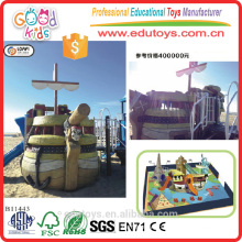 B11443 Beach Toys Pirate Ship Playground, Outdoor Amusement Equipment
